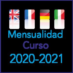 Mensualidad Curso 2020 - 2021